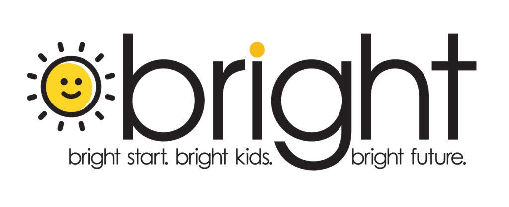 logo for bright start. bright kids. bright future.